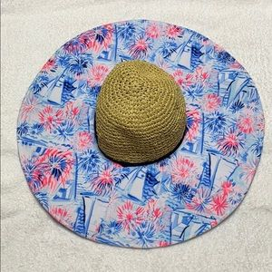 Lilly Pulitzer Beach hat